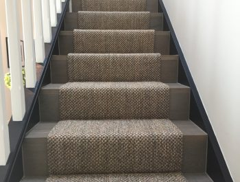 Glen Iris house stairs [Leopard Sisal]