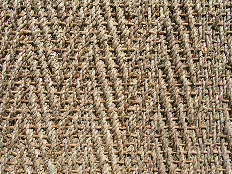 Herringbone Natural Seagrass